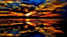 Sunset from beach area 6, Wasaga Beach Canada | Sunsets ...