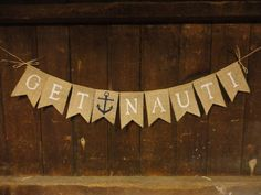 Bachelorette Banner Bachelorette Burlap by IchabodsImagination, $22.00