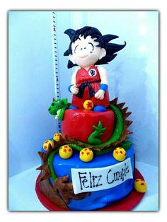 Dbz, Cupcake Cakes, Cupcakes, Dragon Ball Z Shirt, Son Goku, Chocolate, Fondant, Projects To Try, Birthday Ideas