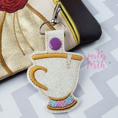Products – Parker on the Porch Best Embroidery Machine, Embroidery Patterns Free, Embroidery Files, Embroidery Designs, Hand Embroidery, Embroidery Fashion, Key Fobs, Fashion Details, Tea Cups