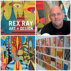 Artist Rex Ray