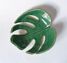 Philodendron pottery - Lauren Sumner - etsy.com