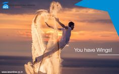 If you are #young and #talented, it's like you have #wings !