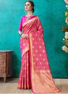 Weaving Banarasi Silk Designer Saree