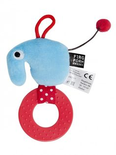 Vauvojen purulelu, Färg & Form Filurer sininen