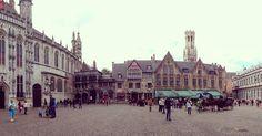 #BurgSquare #Brujas #Bélgica