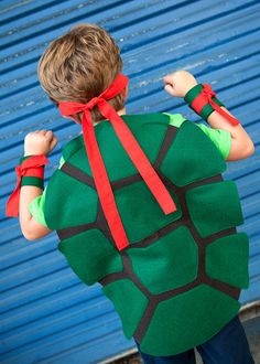 Teenage Mutant Ninja Turtle Shell: Dress Up / Halloween via Etsy