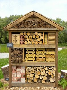 Bee and Insect House, Maison du Parc, les Marais   Flickr - Photo Sharing!