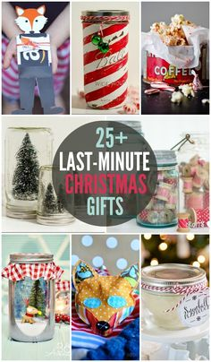 25+ Last Minute Christmas Gifts - cute and simple Christmas gifts!! { lilluna.com }