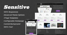 Fully Responsive WordPress Theme using Twitter Bootstrap with Metro Styled Accent. This theme is will make your website adaptable with mobile devices. Theme Features: Custom Homepage Settings, 3 Page Templates, Custom Background Support, Search Engine Friendly.