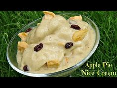 Apple Pie Ice Cream - YouTube