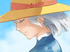 Sophie 無題 by redlion, after she lifted her curse because she loved Howl  Howl's Moving Castle