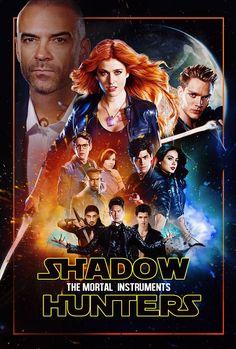 #TMI #TheMortalInstruments #Shadowhunters #FanArt Звёздные войны добрались и до Сумеречных охотников.