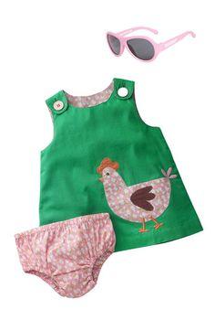 Mini Boden Dress & Babiators Sunglasses (Infant) | Nordstrom Kids Outfits Girls, Toddler Girl Outfits, Baby Corner, Kids Frocks Design, Painted Clothes, Mini Boden, Little Girl Dresses, Baby Sewing, Baby Dress