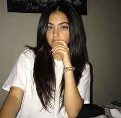 American girl 14 years Very beautiful - Girls Pictures Malu Trevejo Outfits, Cute Hairstyles, Straight Hairstyles, Pretty People, Beautiful People, Curly Hair Styles, Natural Hair Styles, Aesthetic Girl, Tumblr Girls