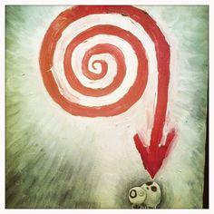 One of my favorite Tim Burton's painting