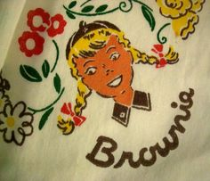 intage 1950's Brownie Girl Scout Hankerchief