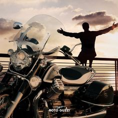 Let yourself be kissed by the sun. Moto Guzzi California, Motogp, Past, Pride, Sun, Past Tense, Solar