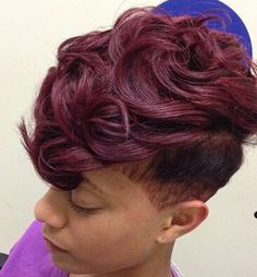 Love this color! & her cut