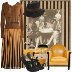 Five ways to dress like a 1930s secretary - great costume suggestions for LUCY LOVELESS.