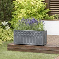 New Products Trough Planters, Planter Pots, Decorative Planters, Flower Pots, Flowers, Dobby, Versailles, Outdoor Furniture, Outdoor Decor
