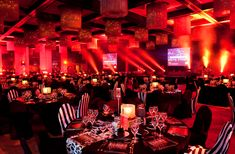 CRF Best Employer Awards | Worx Group Event Management | Table Decor  #eventmanagement #opportunityeverywhere