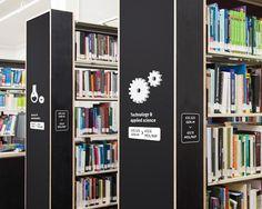 Deakin Library Wayfinding Design on Behance