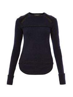 Blaze ribbed-knit sweater | Isabel Marant | MATCHESFASHION.COM