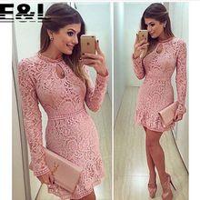 2015 vestidos mulheres Vestido bonito Lace vestidos de festa Vestido de renda…