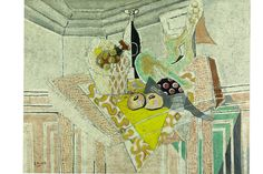 George's Braque, the yellow tablecloth