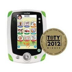 LeapFrog LeapPad1 Explorer Learning Tablet.  $59.97.  There is a newer version out, we however bought this a while back and my toddler loves it!  Its a great educational gift for toddlers and preschoolers.  Why not save money by getting the older version ;-)