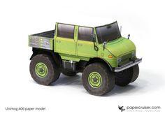Unimog 406 Paper Mod