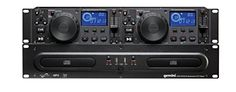 Gemini CDX Series CDX-2250i Professional Audio DJ Equipment Multimedia CD Media Player with Audio CD, CD-R, and MP3 Compatible with USB Input  LIMITLESS MULTIMEDIA COMPATIBILITIES: The CDX-2250i Media Player Is Audio CD, CD-R and MP3-CD Compatible,  with USB Input For USB storage Devices To Have Limitless Options For Your Music Sources  CUSTOMIZE YOUR SOUND: The CDX-2250i CD Media Player Features Single & Continuous Play Modes, One Seamless Loop Per Side with Reloop, Pitch Bend Via Jog...