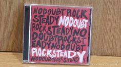 NO DOUBT. ROCK STEADY. CD / INTERSCOPE RECORDS - 2001. 13 TEMAS. CALIDAD LUJO.