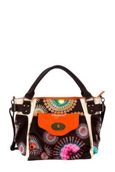 Desigual women's New Fringes McBeen bag. This bag featured on the catwalk at New York Fashion Week. Don't forget to remind your friends. They'll be green with envy!