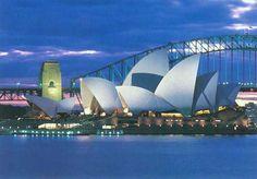 Opera House and Harbour Bridge Sydney Australia