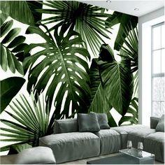 Afbeeldingsresultaat voor behang sticker palmboom