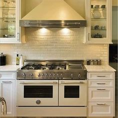 Major Kitchen Appliances: I'm liking the new soft white of this appliance with a touch of stainless steel.