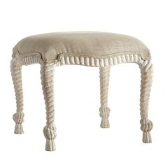 English Rope-Twist Stool