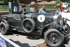 The greatest car in the world - The Bentley LeMans.