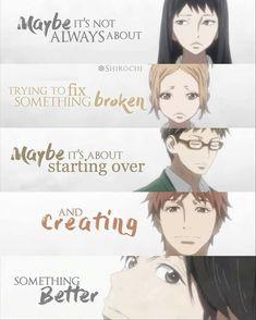 Anime and Manga Fandom Sad Anime Quotes, Manga Quotes, Sad Quotes, Best Quotes, Wife Quotes, Friend Quotes, Couple Quotes, Happy Quotes, Anime People