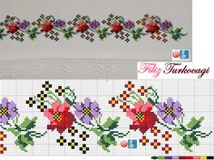 Risultati immagini per www filiz türkocağı Mini Cross Stitch, Cross Stitch Heart, Cross Stitch Borders, Cross Stitch Flowers, Cross Stitch Designs, Cross Stitching, Cross Stitch Patterns, Diy Embroidery, Cross Stitch Embroidery