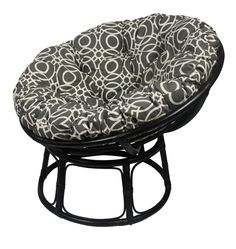 check out our super stunning black papasan chair fames this one is complemented by a