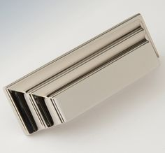 """2597378-PN Jamestown bin pull 3"""" ctc shown in polished nickel. Available in several finishes."""