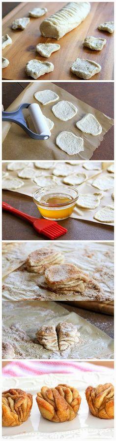 Cinnamon Sugar Pull-Apart Muffins ~ Boutique Recipes