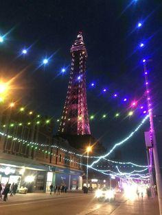Bpl tower / illuminations 2018 Blackpool Pleasure Beach, Blackpool England, Uni, Seaside, Britain, Carnival, Tower, Book, Places