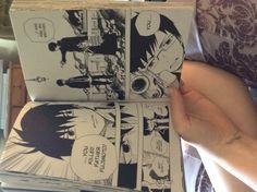 Reading my manga