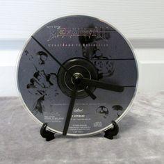 Megadeth CD Clock Heavy Metal Decor - Countdown to Extinction by DarkStormDesign on Etsy