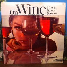 On Wine • How to Select & Serve Vinyl Record LP Peter Sichel Beastie Boys…