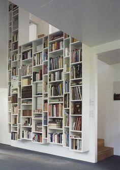 haus w in hamburg, germany by kraus schönberg architekten. #libraryporn